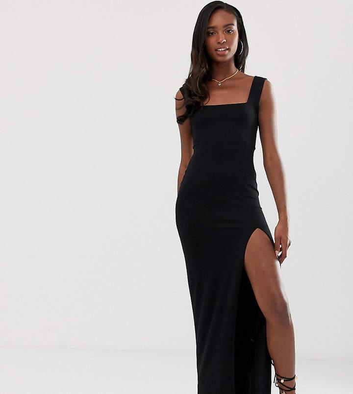 a9fe83295c Black Maxi Dress With Split - ShopStyle UK