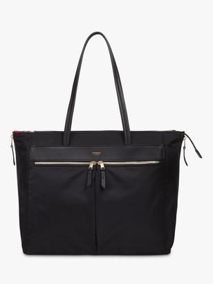Knomo Grosvenor Place Tote Bag for 15 Laptops, Black