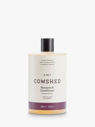Cowshed 2-In-1 Shampoo & Conditioner, 500ml