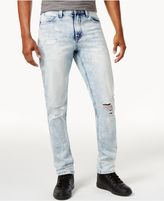Sean John Men's Ripped Slim-Fit Jeans, Created for Macy's