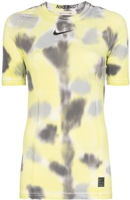 Alyx x Nike logo-print tie-dye training T-shirt