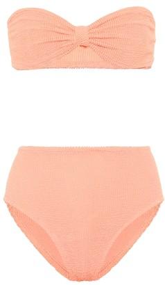 Hunza G Exclusive to Mytheresa Posey bandeau bikini
