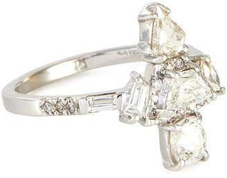 Xiao Wang Galaxy' diamond 18k white gold ring