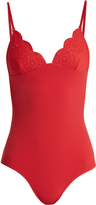 Stella McCartney Broderie-anglaise swimsuit