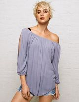 American Eagle Outfitters Don't Ask Why Split Sleeve Top