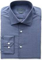 Perry Ellis Collection Men's Slim Fit Non-Iron Dress Shirt