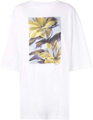 G.V.G.V. floral print oversized T-shirt