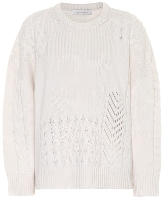 Ryan Roche Open-knit cashmere sweater