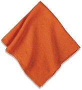 Williams-Sonoma Williams Sonoma Italian Washed Linen Napkins, Set of 4, Pumpkin