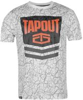 Tapout Mens Chevron T Shirt Tee Top Crew Neck Short Sleeve Cotton Print
