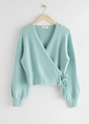 And other stories Wrap Cardigan