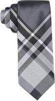 Alfani Men's Park Plaid Slim Tie, Only at Macy's