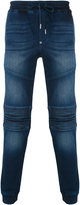 Philipp Plein biker sweatpants - men - Cotton/Spandex/Elastane - 29