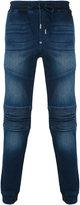 Philipp Plein biker sweatpants - men - Cotton/Spandex/Elastane - 31