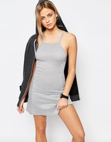 Boohoo Strappy Jersey Dress