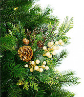 Southern Living Nostalgic Noel Collection Berry & Pinecone Pick