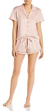Flora Nikrooz Victoria Charmeuse Shorts Pajama Set