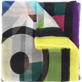 Faliero Sarti graphic print scarf
