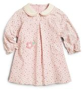 Florence Eiseman Little Girl's Floral Corduroy Dress