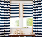 Rugby Stripe Roman Shade