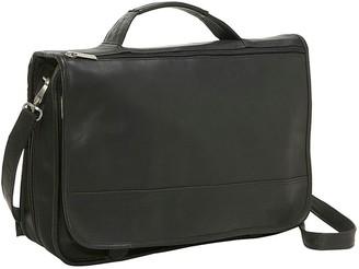 Le Donne Leather Expandable Messenger Bag