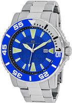 Oceanaut Mens Silver Tone Bracelet Watch-Oc2913