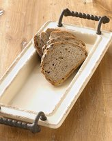 GG Collection G G Collection SMALL CERAMIC TRAY W/HANDLES