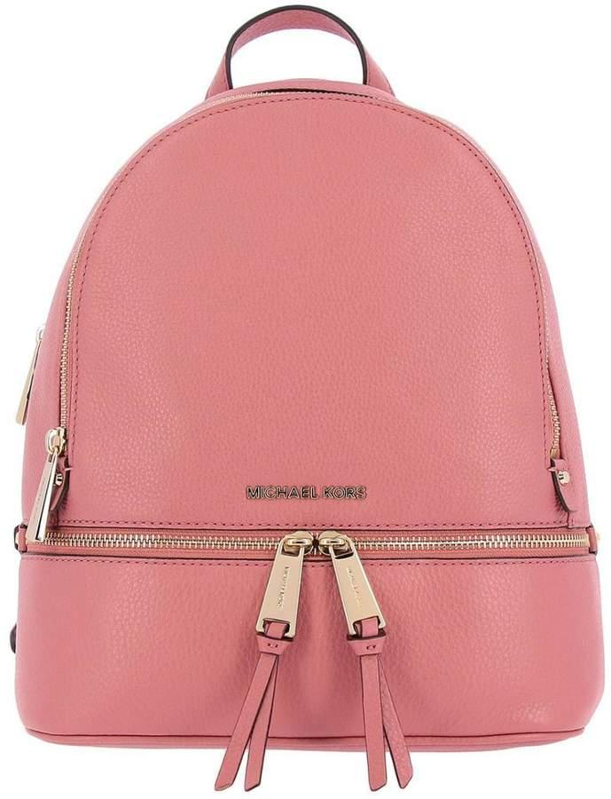 f02c7d09bee5 MICHAEL Michael Kors Pink Women's Backpacks - ShopStyle