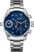 JBW G3 0.16 C.T.W Diamond Mens Silver Tone Bracelet Watch-J6344c