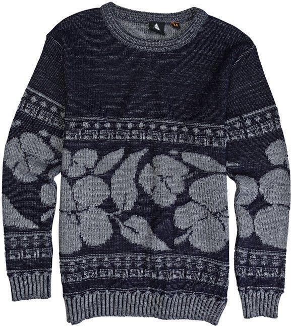 Vanguard Hibiscus Aztec Sweater