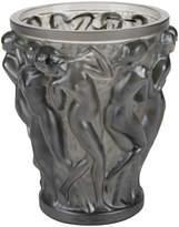 Lalique Bacchantes Crystal Vase - Bronze - Small