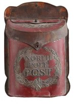 Creative Co-Op North Pole Post Box