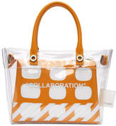 Heron Preston Transparent Off-White Edition Collaboration Duffle Bag