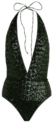 Oseree Mid Paillettes Sequin Swimsuit