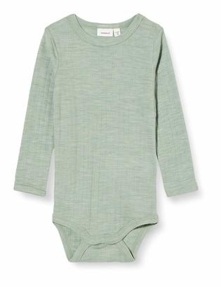 Name It Baby_Boy's NBMWANG Wool Needle LS Body Box NOOS XX Bodysuit