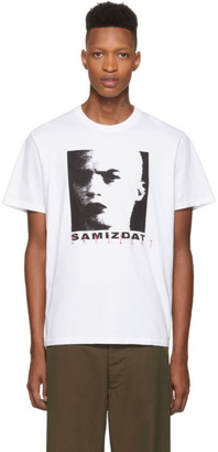 Yang Li White Seasonal T-Shirt