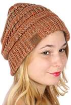 Tigerlily Marbled Knit Beanie