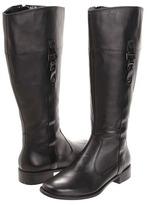 Anne Klein Carloe Wide Calf (Black Leather) - Footwear