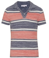 Orlebar Brown Terry-towelling Cotton Polo Shirt