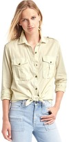 Gap Lightweight utility shirt