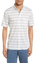 French Connection Men's Lifeline Stripe Cotton Shirt