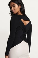 Dynamite Fitted Top With Back Detail