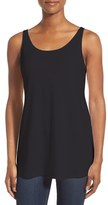 Eileen Fisher Women's Jersey Scoop Neck Long Tank
