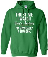 ShingoC Trust Me I Watch Grey's Anatomy I'm basically a surgeon Pullover Hoodie