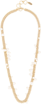 Lanvin Faux-pearl wrap-twice necklace