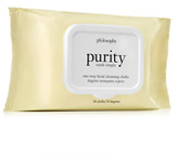 philosophy purity made simple one-step facial cleansing cloths x 30