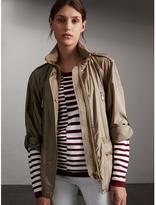 Burberry Showerproof Parka Jacket with Packaway Hood