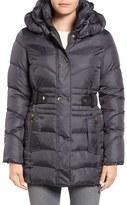 Via Spiga Snap Detail Pillow Collar Puffer Coat
