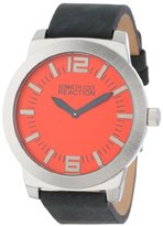 Kenneth Cole Reaction Unisex RK1284 Street Collection Red Dial Watch