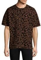 Ovadia & Sons Leopard Wool Tee